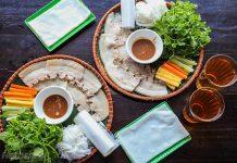 Bánh tráng cuốn thịt heo du lịch Đà Nẵng